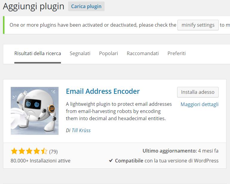 Come difendere gli indirizzi email dai bot spammer