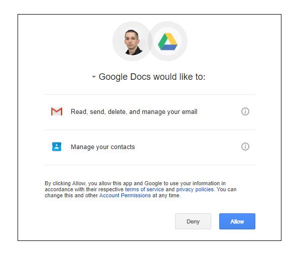 Google Docs Worm