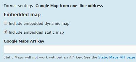Google Maps e Drupal 8 - Fonte: OSTraining