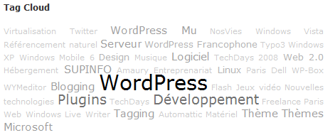 Simple Tags WordPress