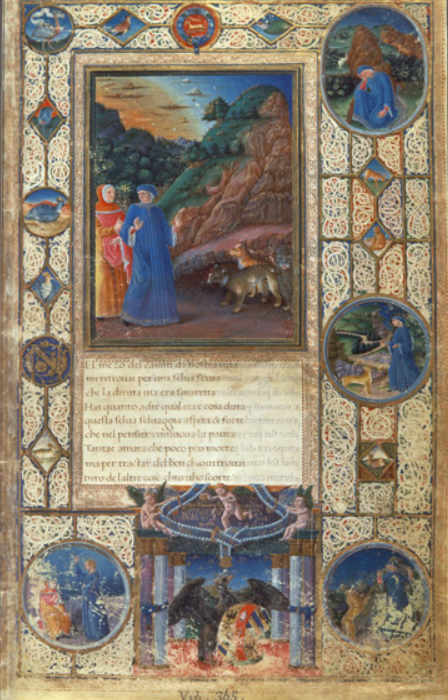 Il Dante Urbinate è uno dei tanti manoscritti custoditi nella Biblioteca Apostolica.