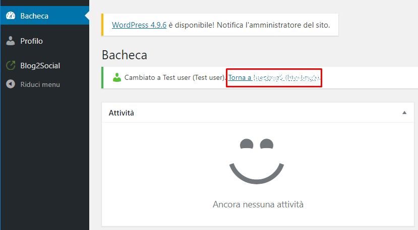 Cambiare rapidamente account con User Switching
