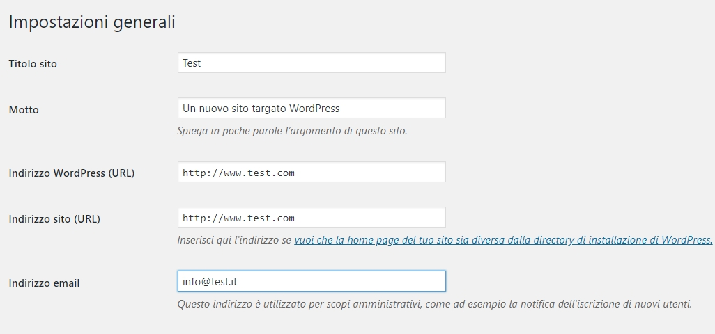 WordPress, implementare certificato SSL