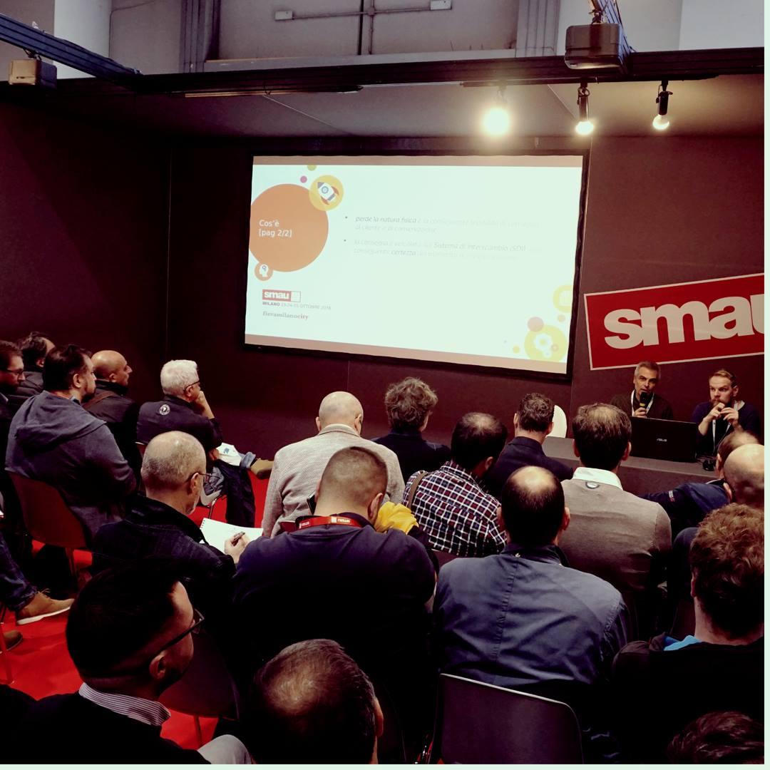 Smau Milano 2018 workshop fatturazione elettronica