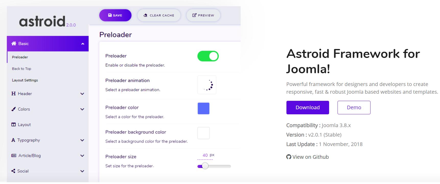 Joomla, tempo medio di lettura dei post