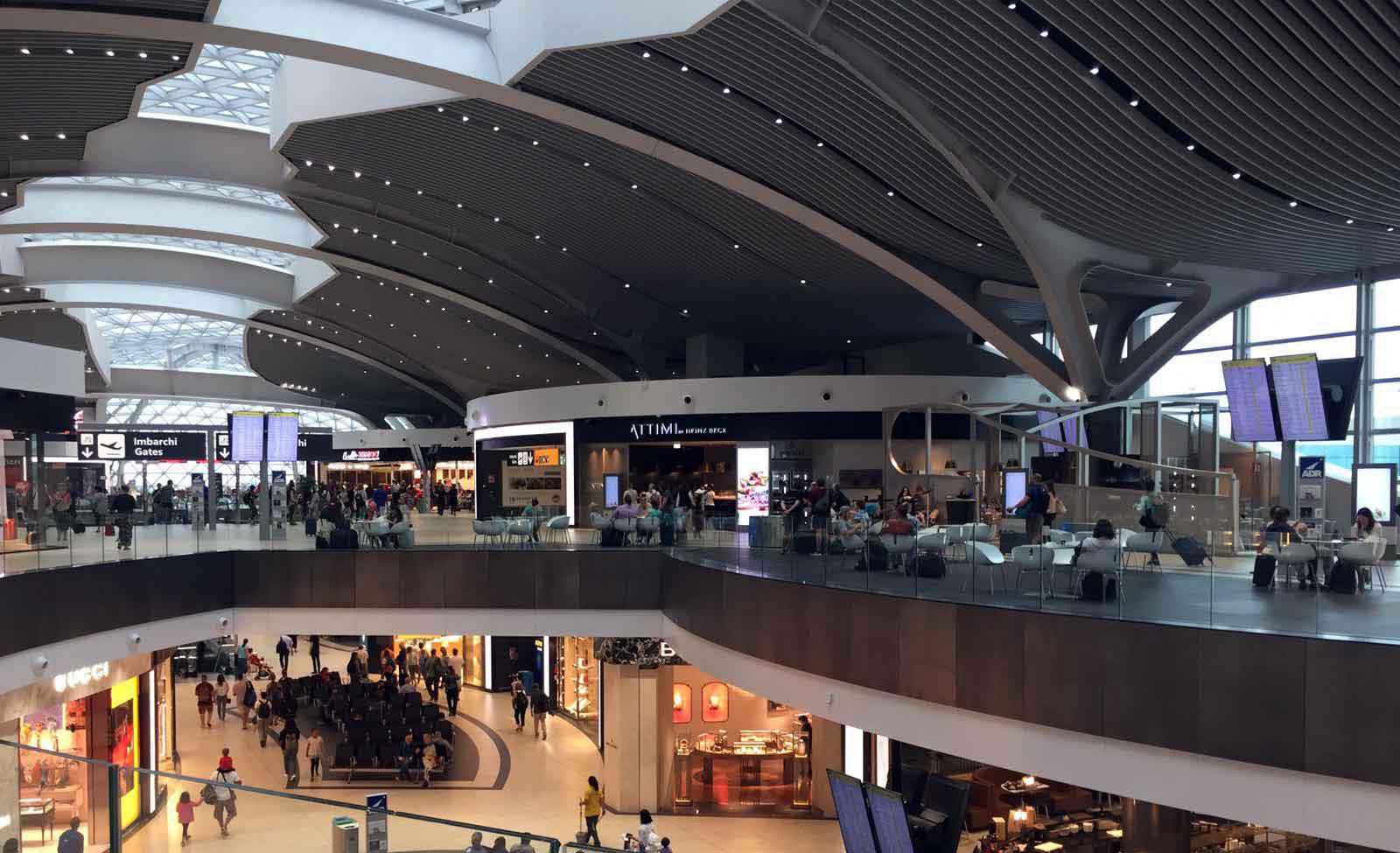 Aeroporto di Fiumicino T3