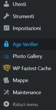 WordPress: come verificare l'età dei visitatori