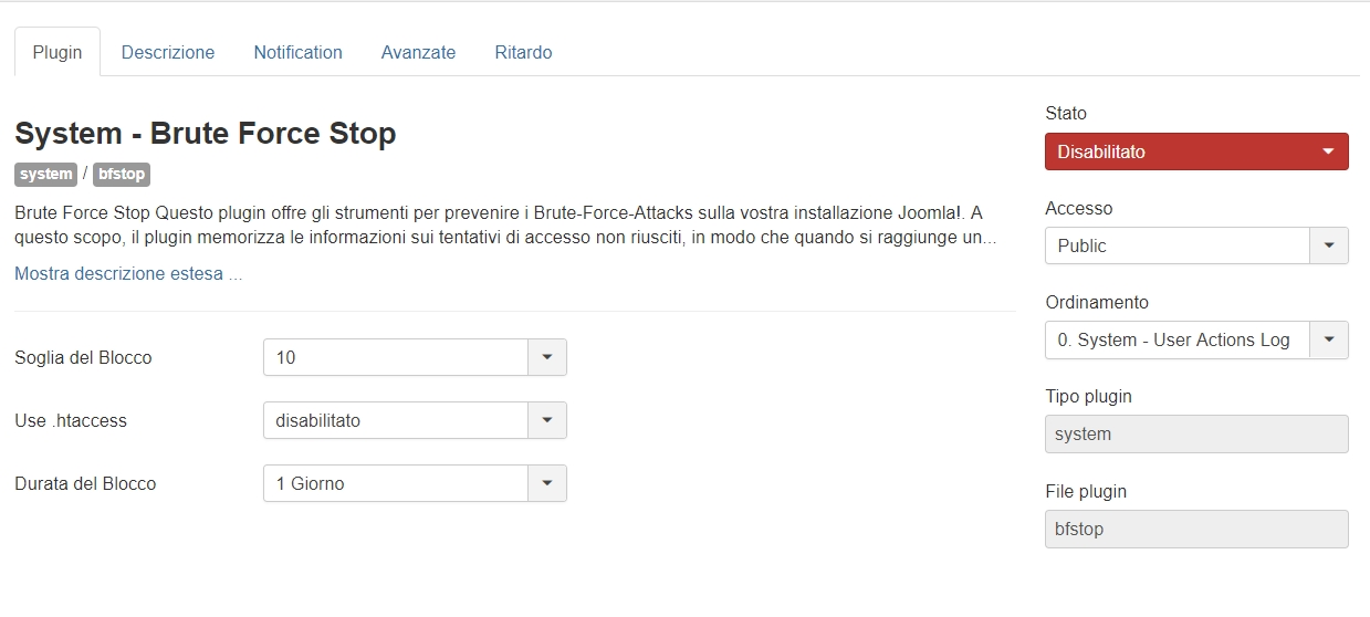 Neutralizzare gli attacchi brute force su Joomla