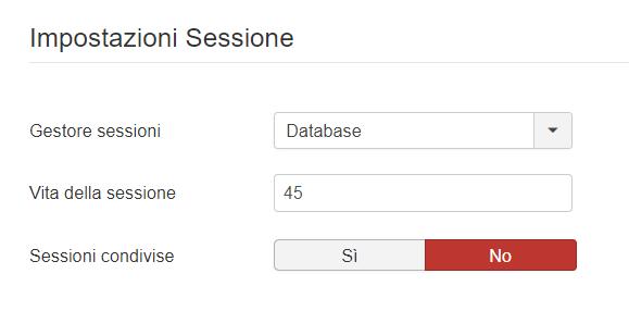 Joomla: incrementare la durata delle sessioni utente
