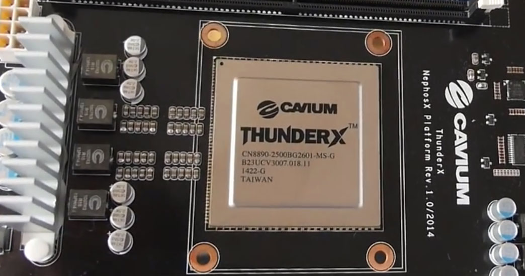 Cavium ThunderX ARM