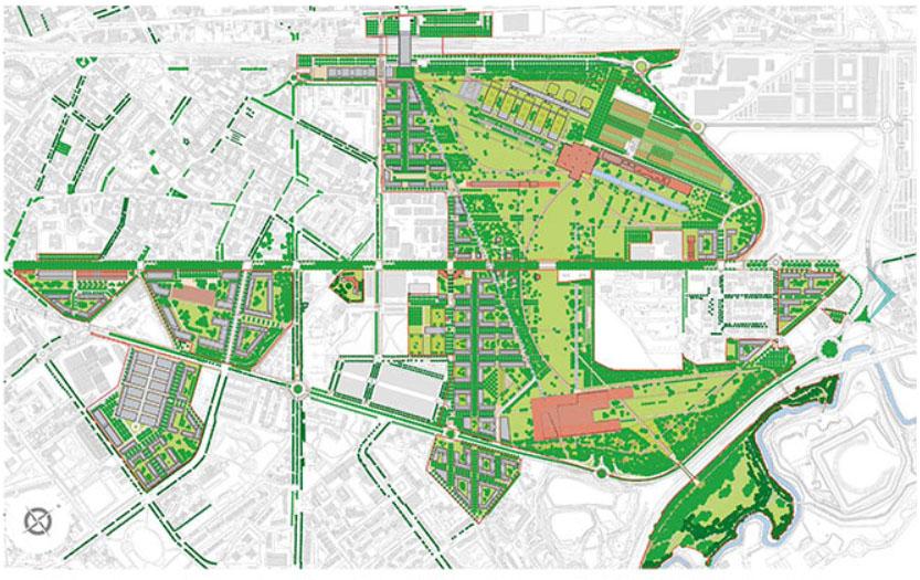 Milanosesto, la cartina del progetto smart